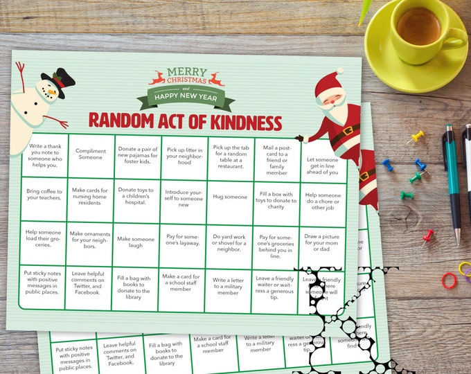 Random Act Of Kindness Christmas Holidays
