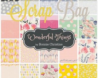 Wonderful Things - Scrap Bag Quilt Fabric Strips by Bonnie Christine for Art Gallery Fabrics
