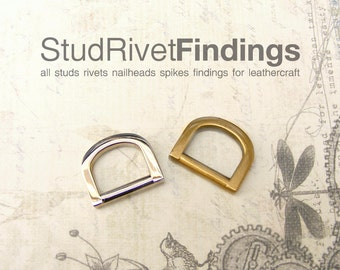 10pcs 13mm ZINC D-ring FOB Purse Hardware Finding for Purse Ring, Clasps Hook Ring/ High Quality