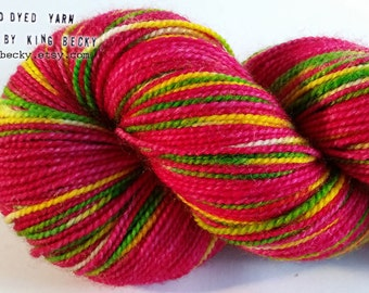 Dreamscape - Pixel Yarn - Saturn - Limited Edition Sock Yarn - 2 Ply Superwash BFL