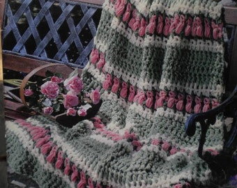 Crochet Afghan Patterns N Hook : Afghan crochet hook patterns Etsy