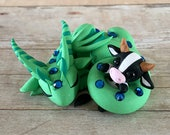 Dragon with Cow Plushie