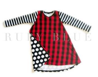 Sylvie Buffalo Plaid Christmas Dress