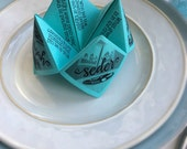 Passover Cootie Catchers for Kids!