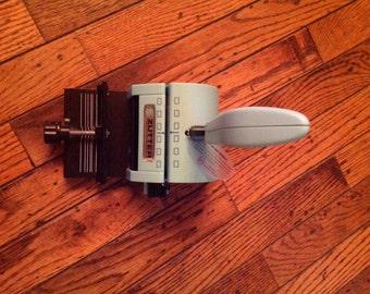 Vintage Zutter Craft Binding Scrapbook Machine Tool