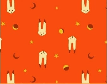 Moon bunnies in flare from the Luna Sol fabric collection by Felice Regina of Sew Scatterbrained for Windham fabrics- 41879-3