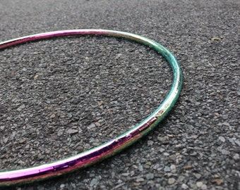 Metallic Lizard Polypro Hula Hoop