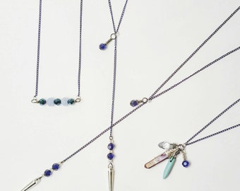 Midnight Blue Necklaces