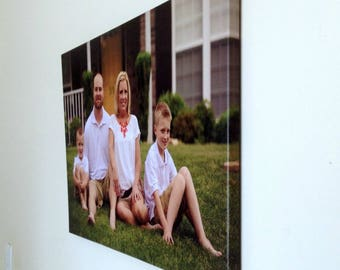 Canvas Photo Prints - Your Own Photo Printed on Canvas Ready to Hang