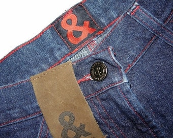 ON SALE Vintage Womens Dolce & Gabbana Old Line Stretch Jeans Denim Classic Five Pockets Trousers