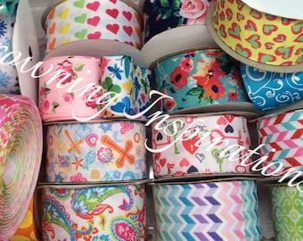 1.5 Grab Bag of Ribbon 20 Yards Different Colors