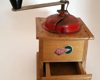 Coffee Grinder Mill Vintage Frap