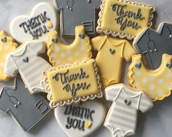 2 Dozen Thank You Nurse or Physician Appreciation Sugar Cookie Collection