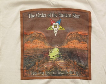 vintage Order of the Eastern Star t shirt