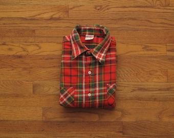 mens vintage Big Mac flannel shirt