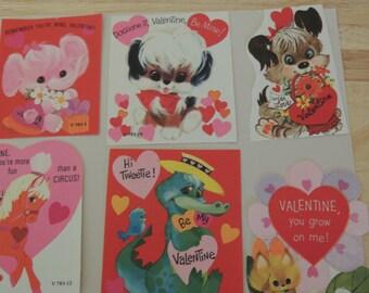 Vtg Kiddies Valentines