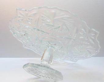 Vintage  Pedestal Cake Plate
