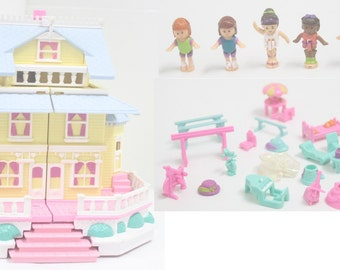 Polly Pocket Clubhouse '95COMPLETE