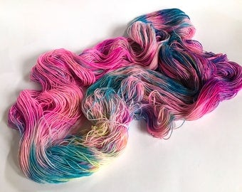 Time Machine.  Sea Spiral Sock Yarn.