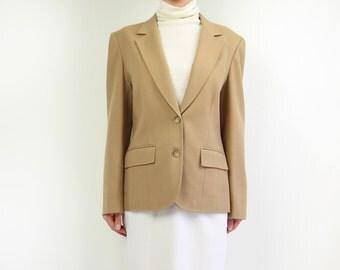 VINTAGE Pendleton Blazer Camel Wool Jacket