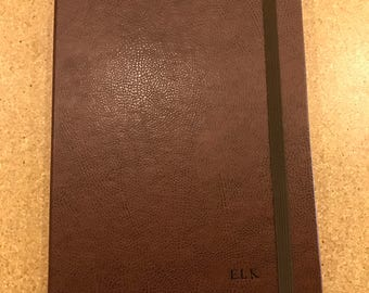 SECONDS - The Contega Case for iPad Air - Whiskey Brown exterior with Praline Interior (Pre-Monogrammed)