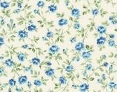 Robert Kaufman - Blue Petite Floral by Robert Kaufman Sevenberry Petite Victoriana Collection -SB-6120D1-3 Japanese Cotton Fabric
