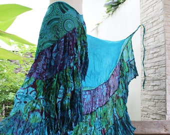 Ariel on Earth Ruffle Wrap Skirt - B0517-01
