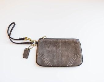 Burberrys Leather Navy Brown Nautical Satchel Bag