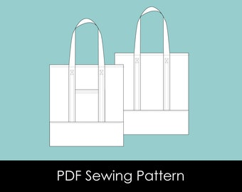 Wanderer Tote - PDF Sewing Pattern