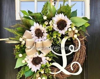 NEW! Front Door Wreaths, Fall Door Wreaths, Farm House Wreaths, Wreaths for Door, Grapevine Wreath, Burlap Door Wreaths, Wreaths for Door