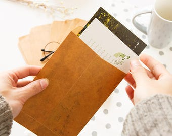 10 Sheets Paper Envelope Set kraft Paper Envelopes DIY Letter Envelopes