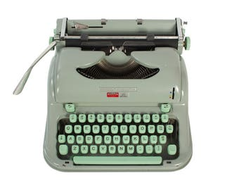 Refreshed Hermes Media 3 Typewriter in Excellent Working Order - FREE Domestic Shipping