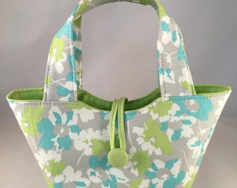 "Baby doll diaper bag ""Mommy & Me Set"" - Pretty Posey Mint"