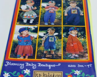 K.P. Ki's & Co.: Blooming Baby Boutique Pattern Sizes 3 Months to 4T (NEW)