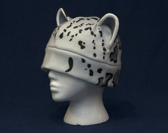 Snow Leopard Hat