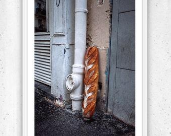 The Baguette, Paris, Unframed Fine Art Photograph