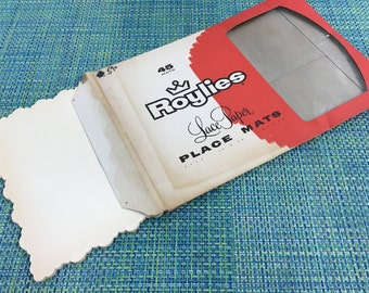 how to make scolleped edge placemats