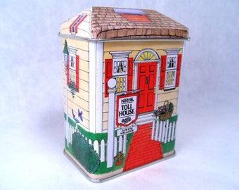 Tin Building Toll House Inn Vintage 80s