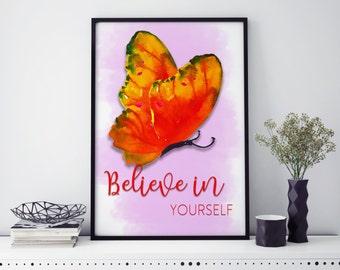 Butterfly Prints | wall art | Wall art | Butterfly wall art | individual print
