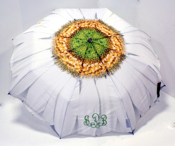 White Daisy Umbrella