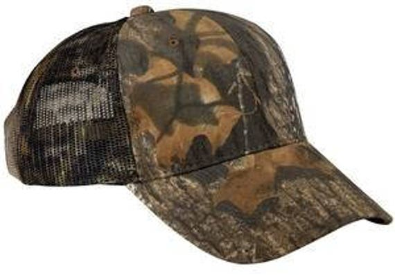 Camo Hat with Mesh Back
