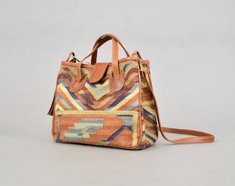 Kilim Tapestry Shoulder Bag