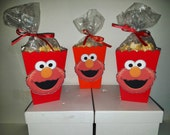 Elmo Snack Boxes - Set of 10