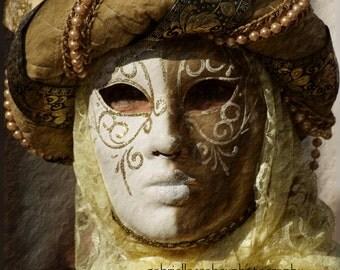 "Carnival of Venice, Mask Photo, Venice Photography, Italy Photography, Travel Photography, Prints and Mounted - ""Carnevale di Venezia XXXIX"""