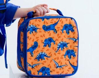 Dino monogrammed Lunch Box