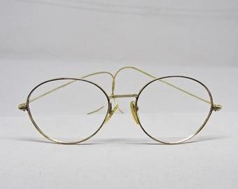 10k Gold Eyeglass Frames : 10k gf Etsy