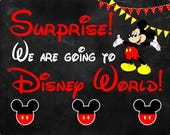 Disney World - Personalized Puzzle - Going to Disney - Mickey Mouse
