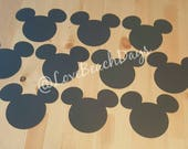 Mickey Mouse Faces: 10 Large Disney Mickey Mouse Custom Faces, Party Supplies, Children's Birthday