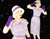 50s Plus Size Dress, Oversize Floral Dress, Modest Plus Size, Original Belt, Spring Floral Dress, Mid Length Dress, Oversized Dresses