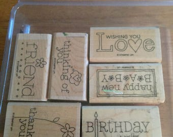 Stampinup For a Friend stamp set